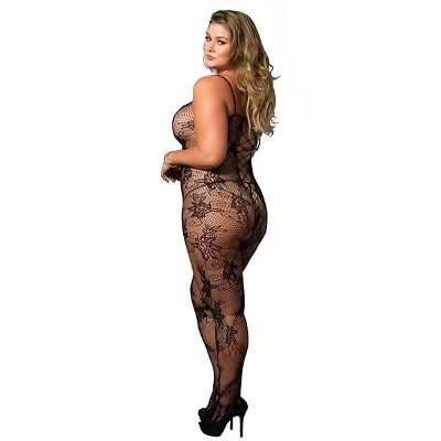 Čipkasti bodystocking